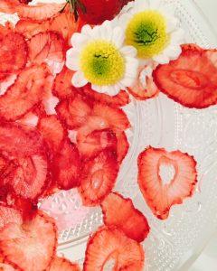 Erdbeer Chips