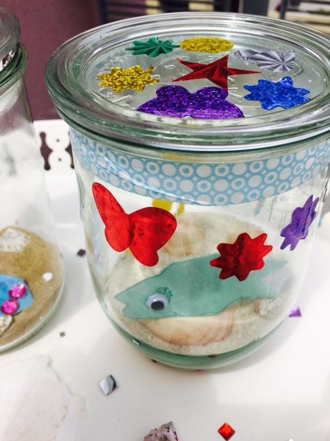 Unterwasser Glas
